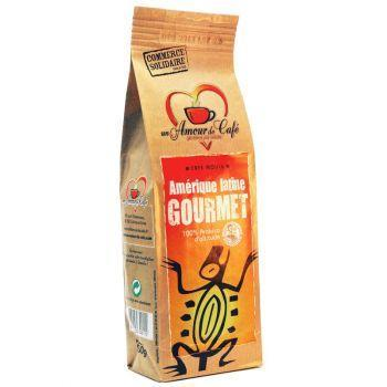 Cafe moulu gourmet 250g commerce solidaire