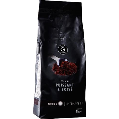 Cafe moulu intensite 11 1 kg gilbert