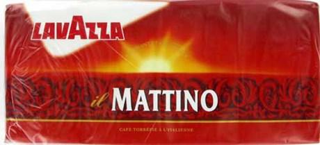 Cafe moulu lavazza mattino 8 x 250 g pour professionnels