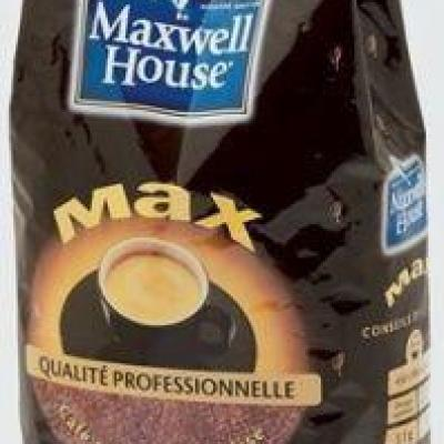 Cafe soluble lyophilise house max 500 g maxwell pour professionnels