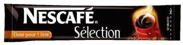 Cafe soluble selection 300 x 2 g cafe pour bureau
