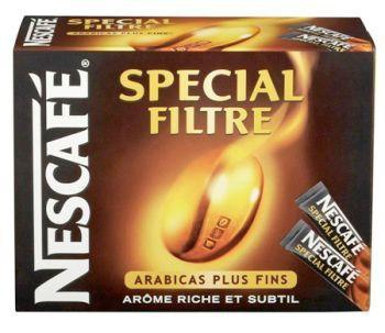 Cafe soluble special filtre 25 x 2 g nescafe pour professionnels