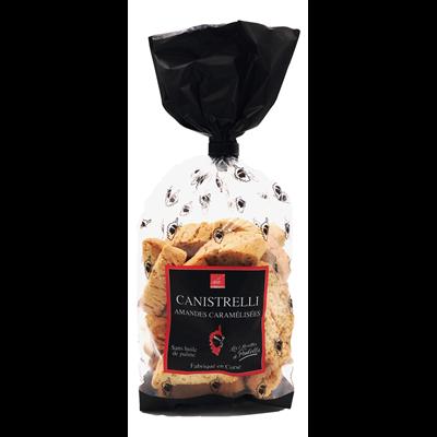 Canistrelli amandes caramelisees 250 g