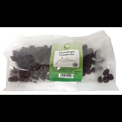 Canneberge cranberries 250 g saisse