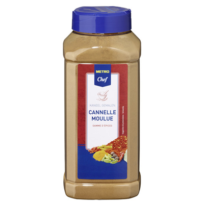 Cannelle moulue 450 g metro chef
