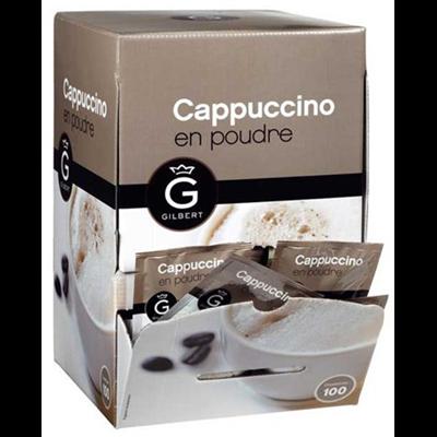 Cappuccino en dosettes 12 g gilbert vendu a l unite