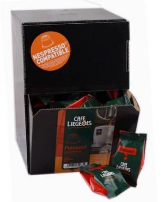 Capsule cafe liegeois puissant x 50 pour professionnels
