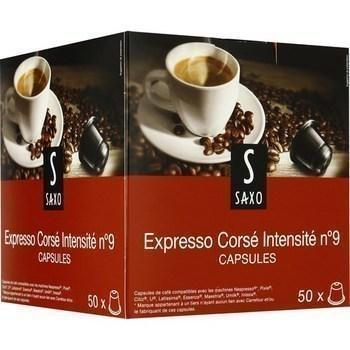 Capsules de cafe moulu expresso corse x50 compatibles nespresso