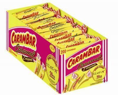 Carambar caramel 200 pieces bonbon au kilo bonbons en vrac