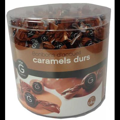 Caramels durs d accueil x 420 pieces 1 4 kg gilbert