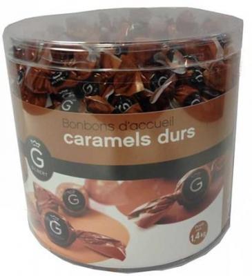 Caramels durs d accueil x 420 pieces gilbert pour bureau