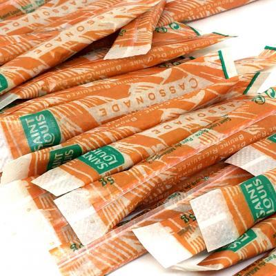 Cassonade en buchettes de 5g saint louis