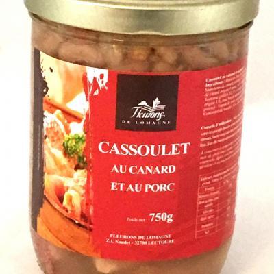 Cassoulet occitan aux deux viandes 750g bocal
