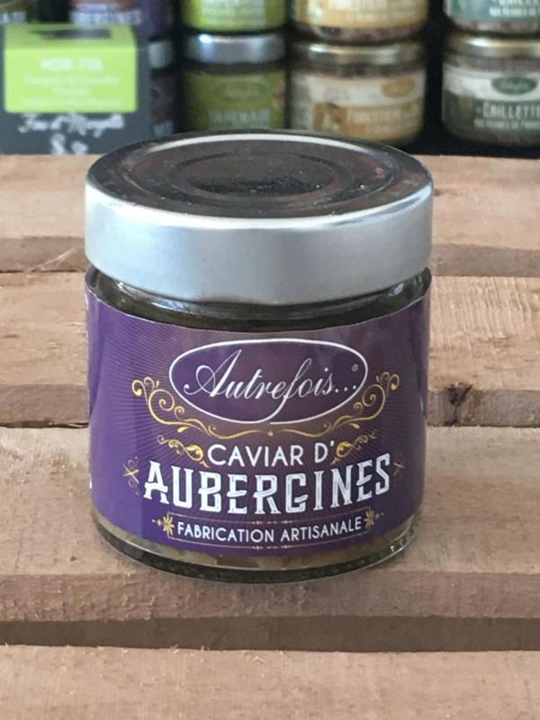 Caviar d aubergines 100g autrefois terroir milhaud gard 1