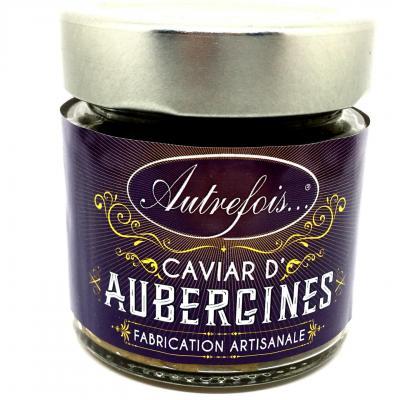 Caviar d aubergines 100g autrefois terroir milhaud gard