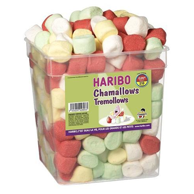 Chamallows rainbollows 210 pieces haribo