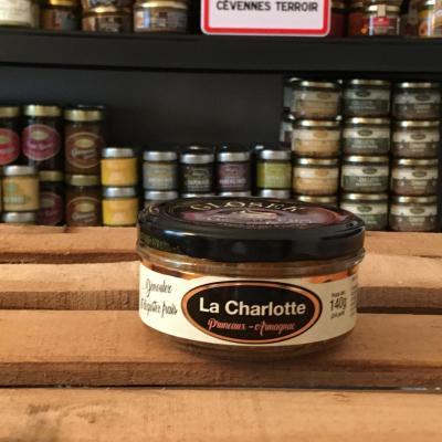 Charlotte de gascogne au pruneaux et a l armagnac 140g bocal 1