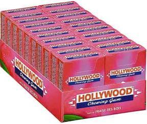 Chewing gum fraises des bois x 20
