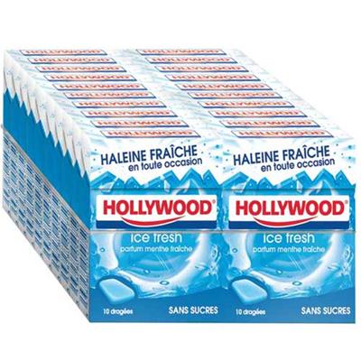 Chewing gum ice fresh sans sucre vendu par 20 1