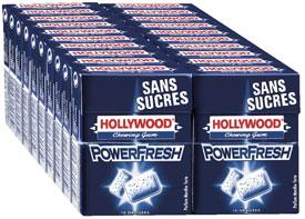 Chewing gum powerfresh sans sucre 10 dragees vendu par 20 1