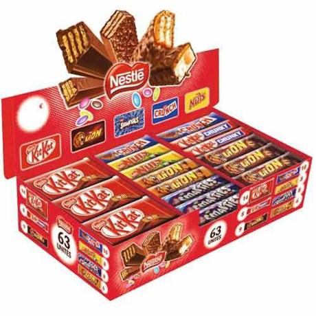 Chocobox 63 pieces nestle pour bureau
