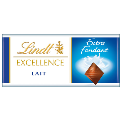 Chocolat au lait excellence 24 x 35 g lindt
