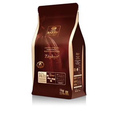 Chocolat blanc zephyr 34 1 kg barry 1