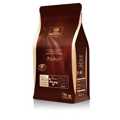 Chocolat blanc zephyr 34 1 kg barry