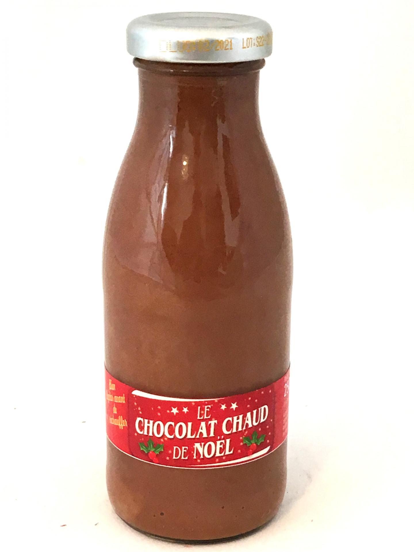 Chocolat chaud de noel 250g bouteille 1