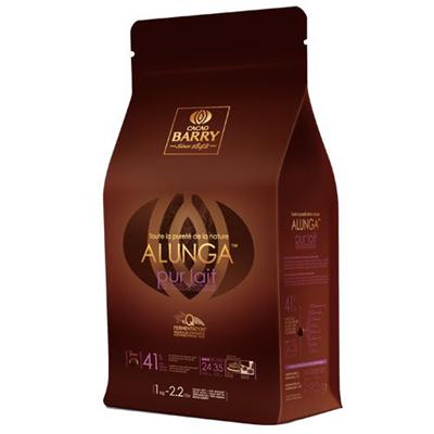 Chocolat de couverture au lait alunga 41 1 kg