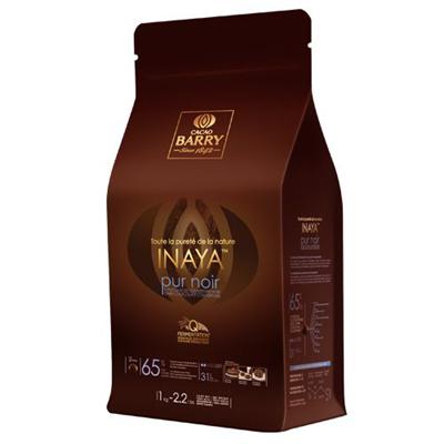 Chocolat de couverture noir Inaya 65% 1 kg