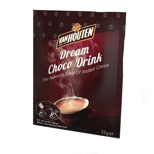 Chocolat en poudre 23 g van houten vendu a l unite