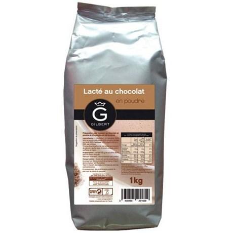 Chocolat en poudre lacte 1 kg gilbert stick individuel et dosettes individuelles cevennes terroir colis gastronomiques