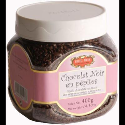 Chocolat noir en pepites eric bur 400 g