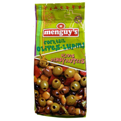 Cocktail olives lupins 200 g menguy s
