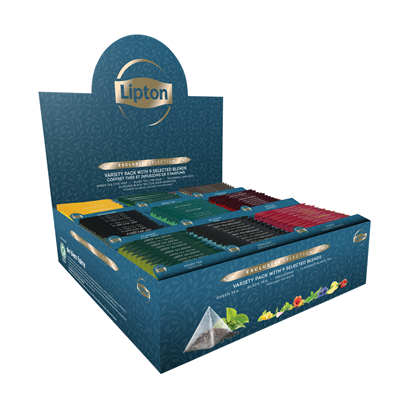 Coffret thes et infusions 108 sachets pyramide lipton exclusive selection