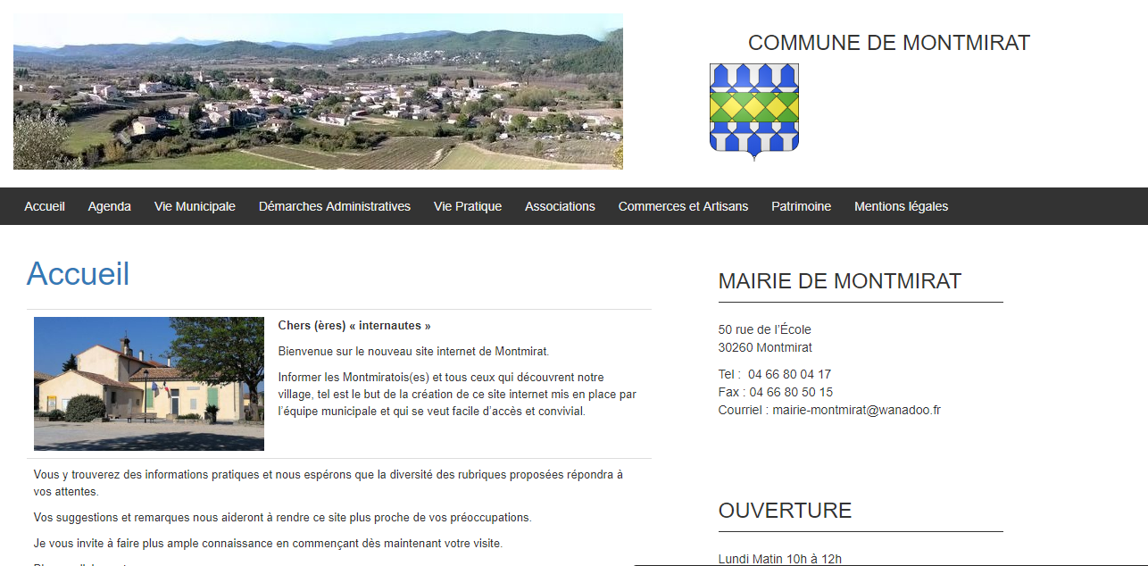 Mairie de Montmirat