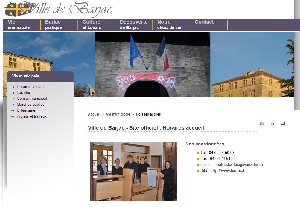 Mairie de Barjac