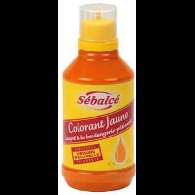 Colorant jaune 0 5 l sebalce