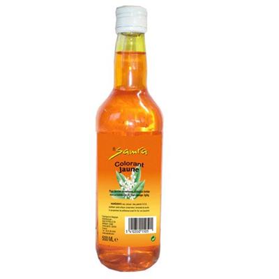 Colorant jaune 500 ml samra 1