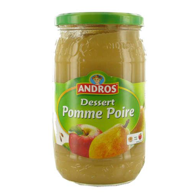 Compote pomme poire 750 g andros