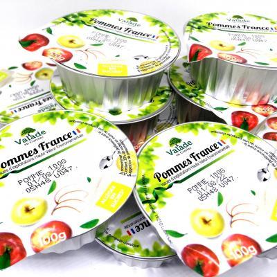 Compotes et specialites assorties coupelle de 100 g valade
