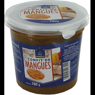 Confit de mangue 780 g horeca select