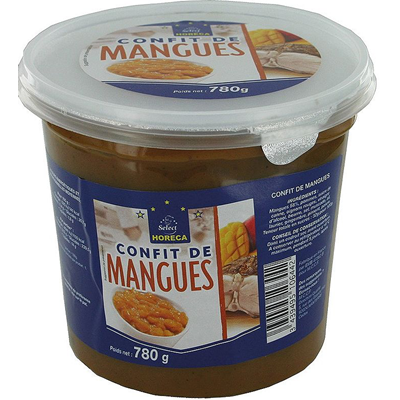 Confit de mangue 780 g horeca select