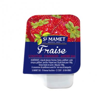 Confiture 30g saint mamet fraise vendu a l unite