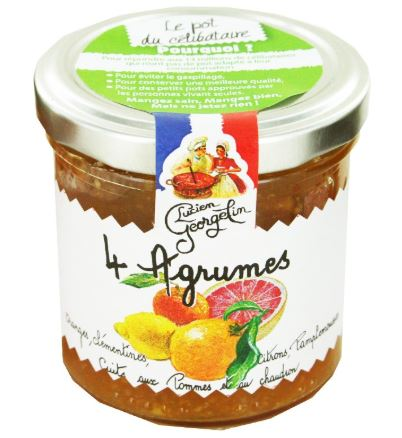 Confiture aux 4 agrumes 150g georgelin