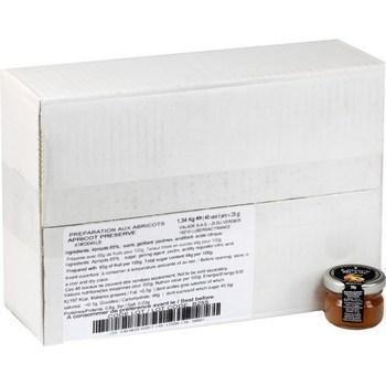 Confiture aux abricots 48x28 g