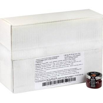 Confiture aux fraises 48x28 g 1
