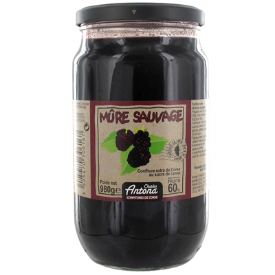 Confiture corse mures sauvages 980 g charles antona 1