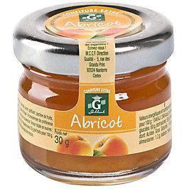 Confiture d abricot 24 x 30 g gilbert stick a l unite dosette individuelle